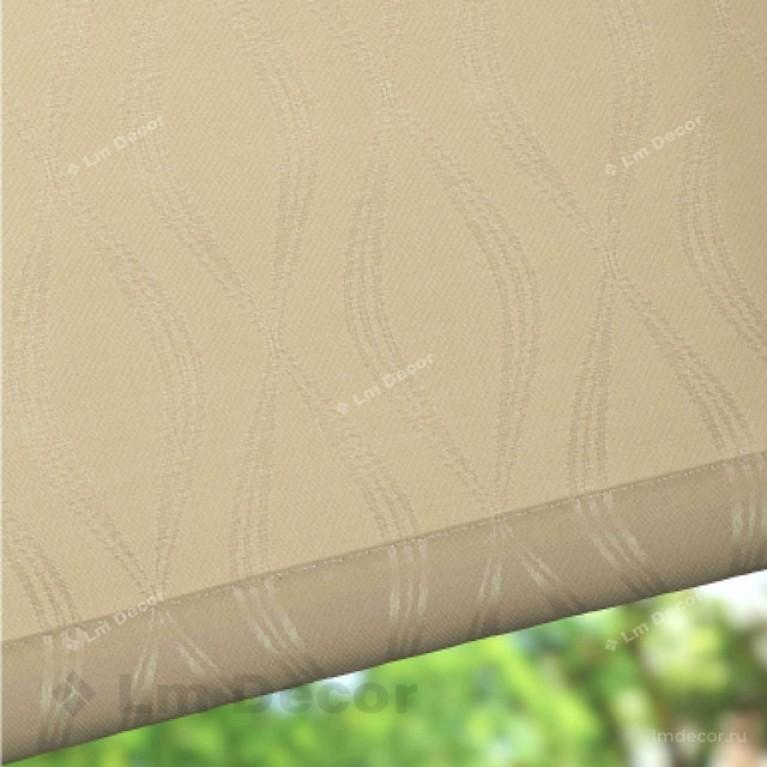 Рулонная штора «Инфинити 03» Бежевая